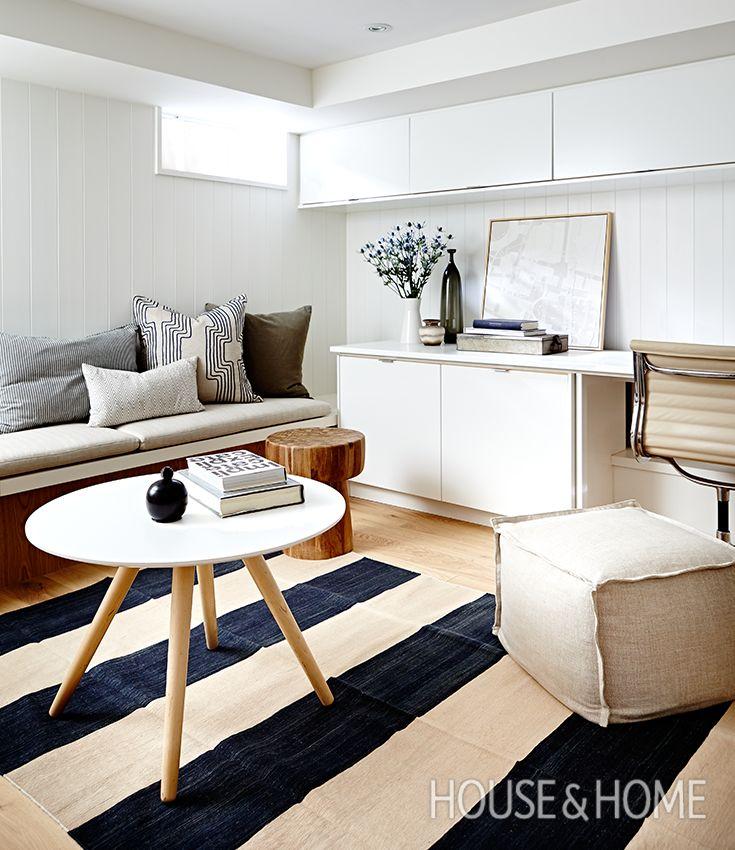 Bright & Beautiful Basement Design Ideas