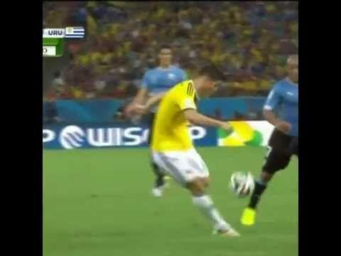 Gol de James Rodriguez Cancion Mi Selecion Nino la Rompe ft Robin Khalifa