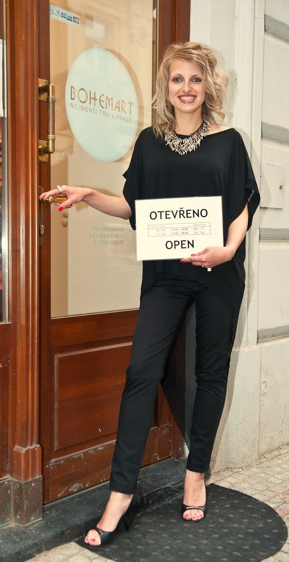 Black top: Michaela Sura Pants: Lelkalor Necklace : Indiva  #czechfashion #prague #czech #pragueshopping #czechdesigners #czech designers #fashion #love #accesories #bags #chic #boho #style #instyle #homedecor #localfashion #local products #no fur shop #outfit #whowearus #howtowearit #hippie #elegant #gypsy #citylook #quality #folk