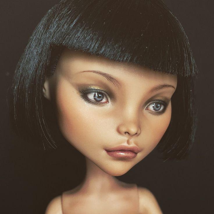 Monster High Cleo De Nile custom doll repaint | by oli.krolik