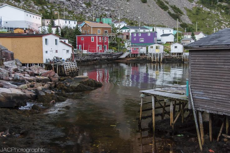 The tiny Newfoundland outport of Francois is accessible only by boat.