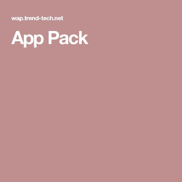 App Pack
