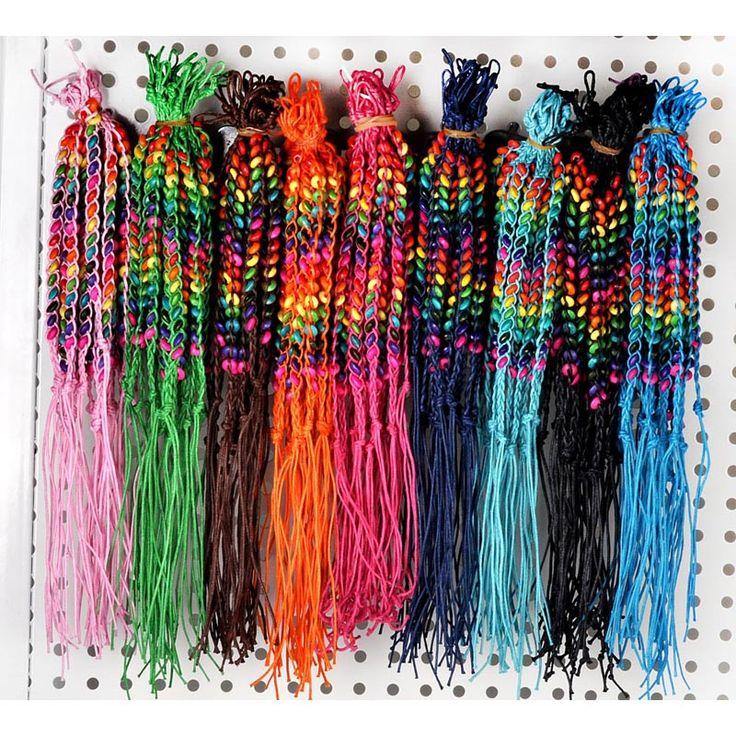 10pcs/lot Women Wood Beads Weave Rope String Children Girl Friendship Bracelets Handmade Charm Strand Bangle Beach Jewelry-in Chain & Link Bracelets from Jewelry & Accessories on Aliexpress.com | Alibaba Group