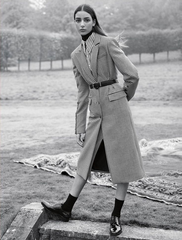 Vogue UK February 2017 by Karim Sadli