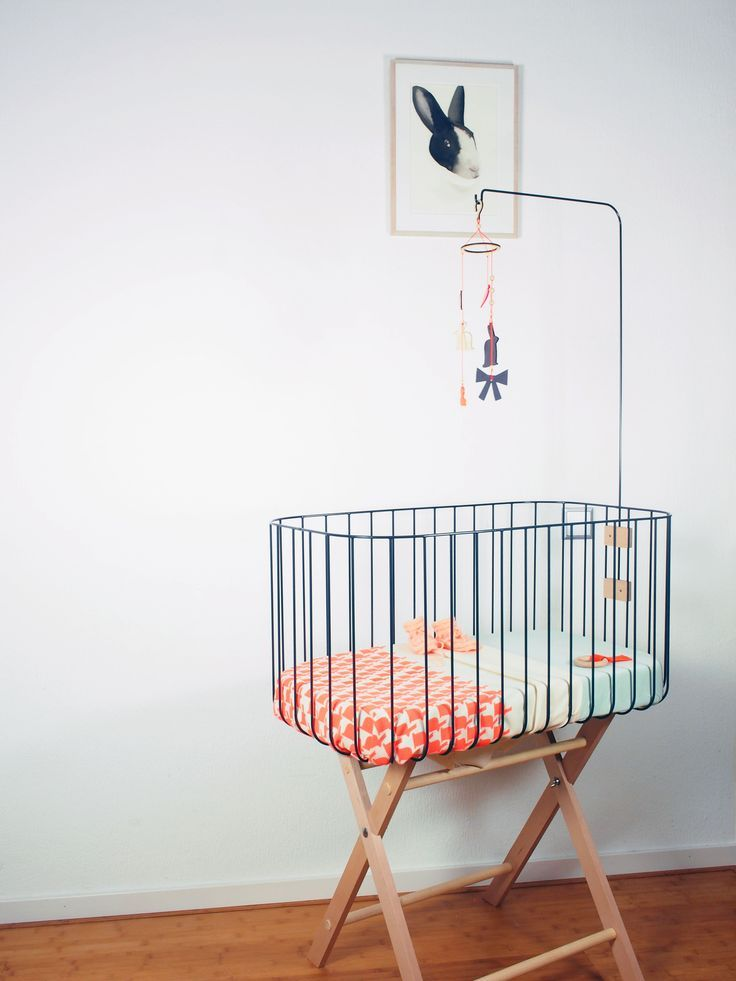 Our Vintage Baby Crib is inspired by vintage baby beds. We wanted to create a simple bed with an open and airy feeling. So the air keeps fresh and the baby is visible form all sides. It has a modern but timeless look. The bed is safe and user-friendly. It is delivered with the mobile holder, [...]