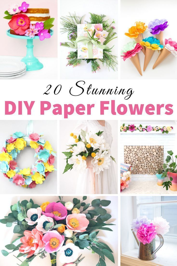 Pin By I Wish I Was Crafty On Paper Flowers Pinterest Flowers