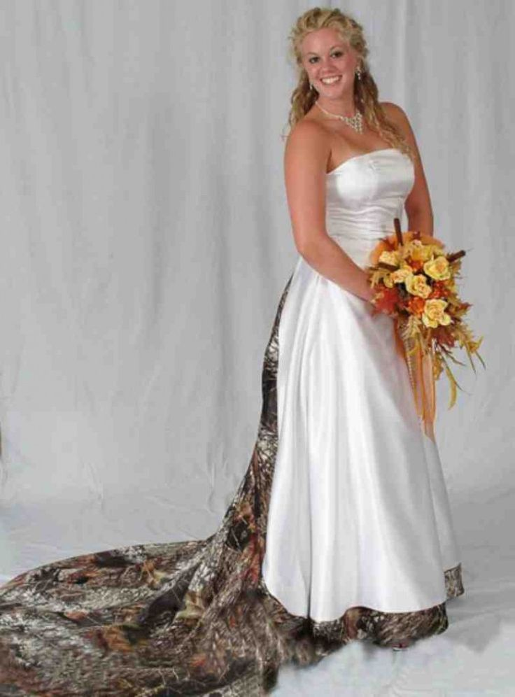 25 best ideas about camo wedding dresses on pinterest for Camo accented wedding dresses