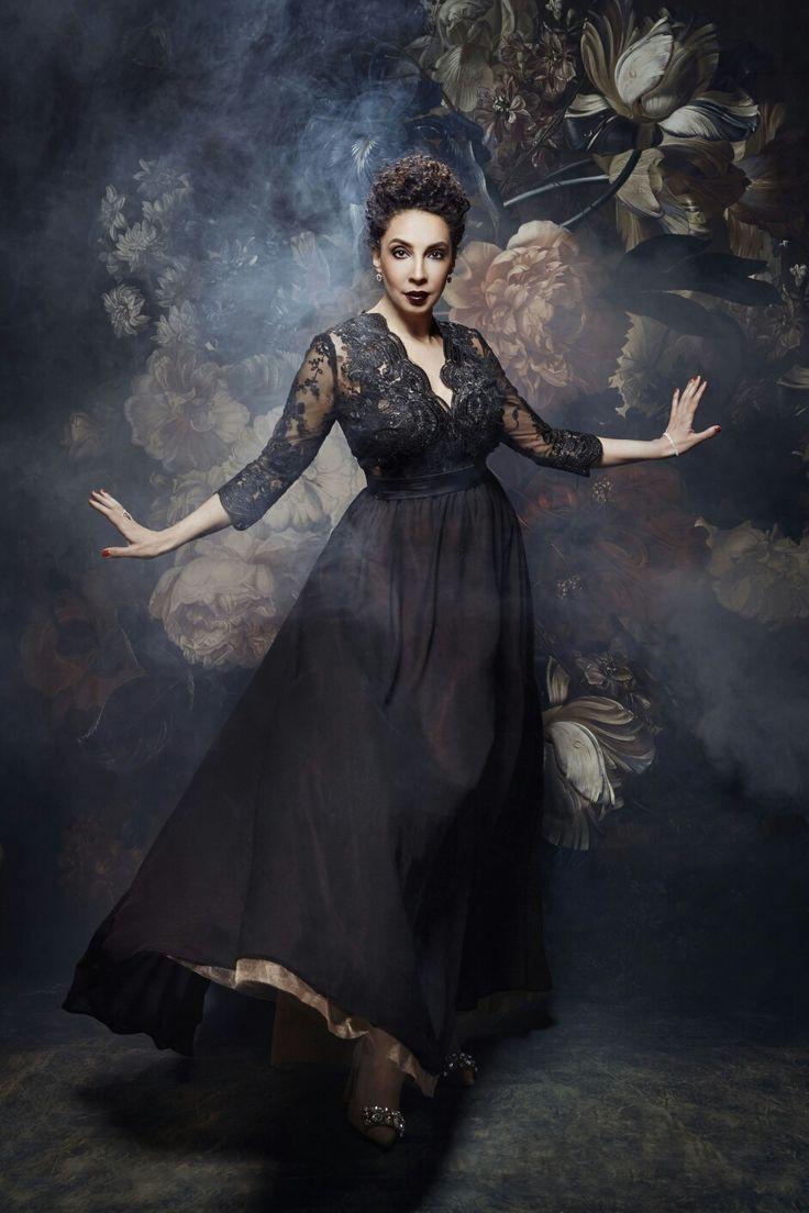 Kamelia Kader mezzosoprano Opera Star. Photography: Diliana Florentin.