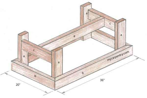 17 best ideas about coffee table plans on pinterest diy for Small coffee table plans
