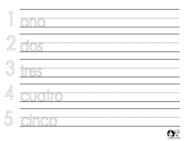 131 best Spanish Worksheets for Children - Español Para Niños ...