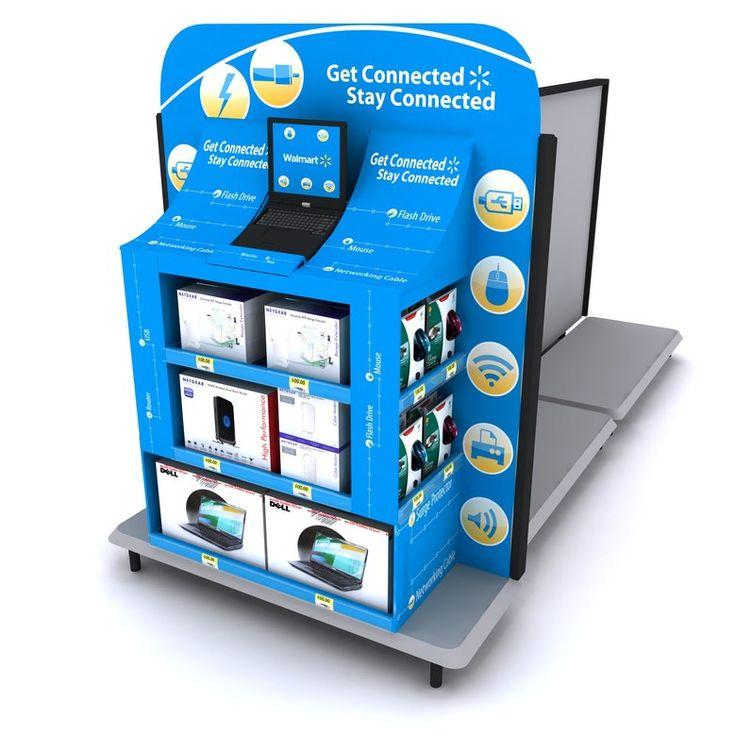 Craig Candanoza - Wal-Mart Electronics Endcap Displays
