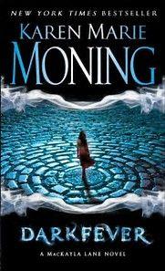 KAREN MARIE MONING (MacKayla 'Mac' Lane goes to Ireland works in bookstore as country being taken over by elf's Underhill) 1.Darkfever; 2.Bloodfever; 3.FaeFever, 4.Dreamfever, 5.Shadowfever, 6. Burned, 7