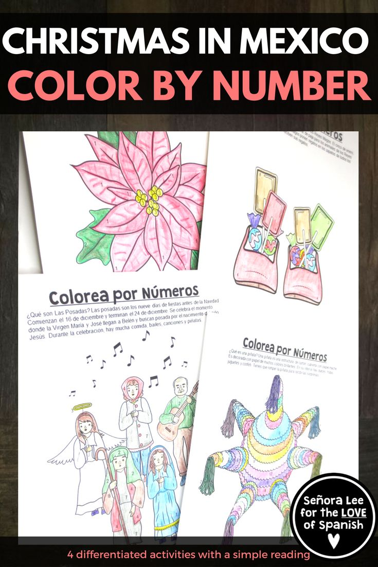 Workbooks las posadas worksheets : 873 best Spanish Middle School Lesson Plans images on Pinterest ...