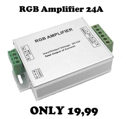 RGB AMPLIFIER FOR STRIP