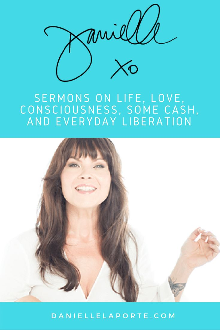 """Danielle LaPorte has become my favorite spiritual teacher when it comes to better understanding The Law of Attraction. If you've felt like something has been missing, this is it!  Danielle teaches about figuring out what you truly desire and teaches ways to follow your desires.  Check out her awesome book, workbook, and planner on finding your desires. Also check out her other books """"Truth Bombs"""" and """"Fire Starter"""""""