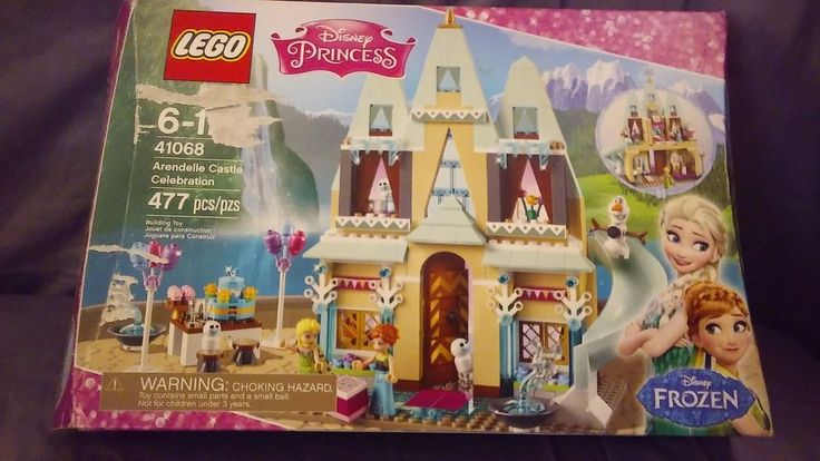 LEGO DISNEY PRINCESS FROZEN ARENDELLE CASTLE CELEBRATION COMPLETE SET #Lego
