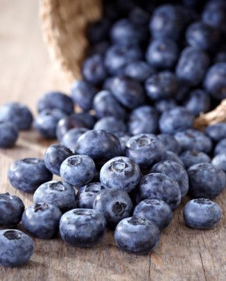 Food Photography, blueberries