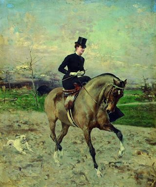 Nasta (Jerka Hermina Ljubica) Rojc, one of the first academically educated Croatian women painters, was born in Bjelovar on November 6, 1883 as the first of four children in the family of the eminent solicitor, doctor of law Milan Rojc. Nasta Rojc / Horsewoman
