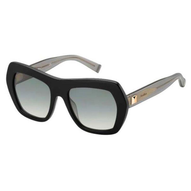 Max Mara Damen Sonnenbrille » MM THIN«, schwarz, 807/VK - schwarz/grau