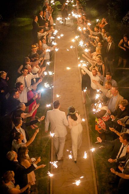 """Welcome to your Sparkler Exit! * wedding sparkler tags cannot be customized. Each tag will contain the phrase """"Let Love Sparkle"""" * 20inch Sparklers have a sparkle time of about 1.5 minutes. 36inch Spa"""