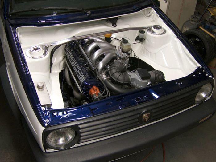 Volkswagen Sex   Shaved Engine Bay - VW GTI Forum / VW Rabbit Forum / VW R32 Forum / VW ...