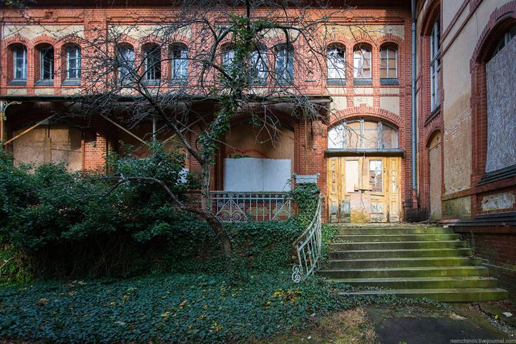Заброшенная больница Белиц-Хайльштеттен: nemchinov