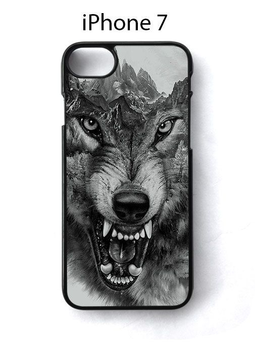 Mountain Wolf Growl Animal iPhone 7 Case Cover - Cases, Covers & Skins