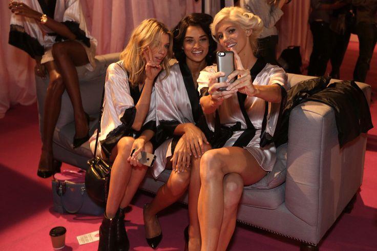 Martha Hunt, Shanina Shaik & Devon Windsor - Victoria's Secret '14
