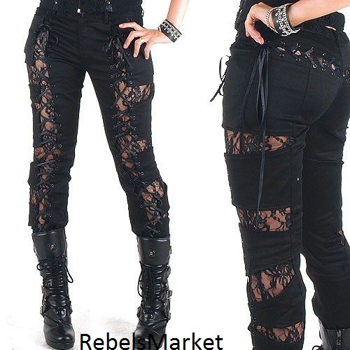 Gothic Black Leggings, but I'd make them into something not so straight legged.