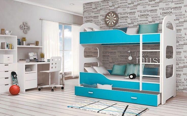 Łóżko piętrowe kojarzy się zazwyczaj z prostym łóżkiem dla dwójki dzieci. W naszym sklepie oferujemy ciekawe modyfikacje tego rozwiązania.