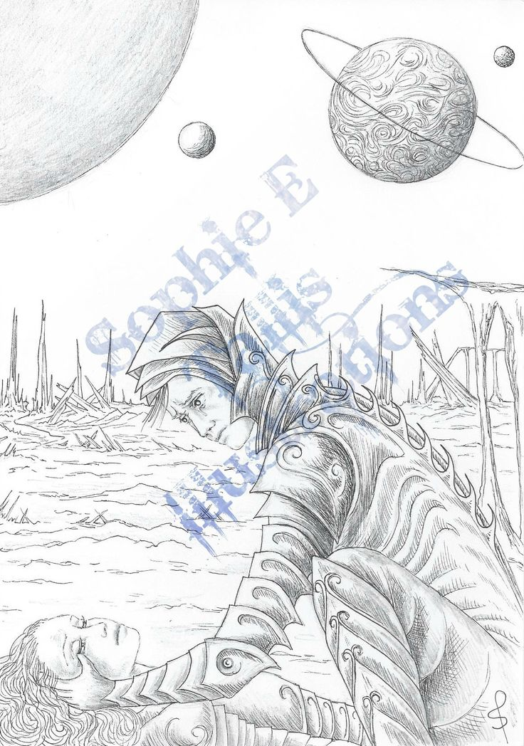 'Alien World'. One of my final illustrations for the AWB anthology.