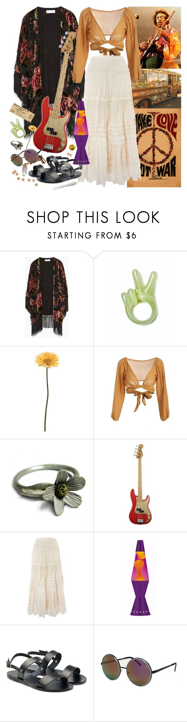 """""""and so castles made of sand fall in the sea eventually"""" by anastaziah2014 ❤ liked on Polyvore featuring Zara, Gerber, Shota Suzuki, Denim & Supply by Ralph Lauren, Ancient Greek Sandals and Topshop"""