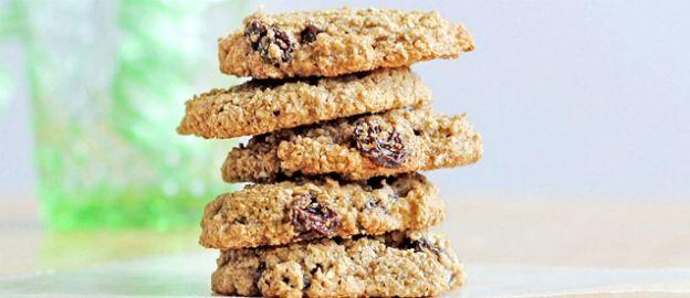 Havermout-rozijnkoekjes zonder bloem ♥ Foodness - good food, top products, great health