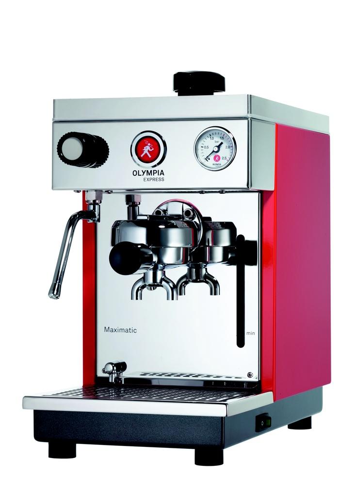 swiss quality.. and design. Espresso machine