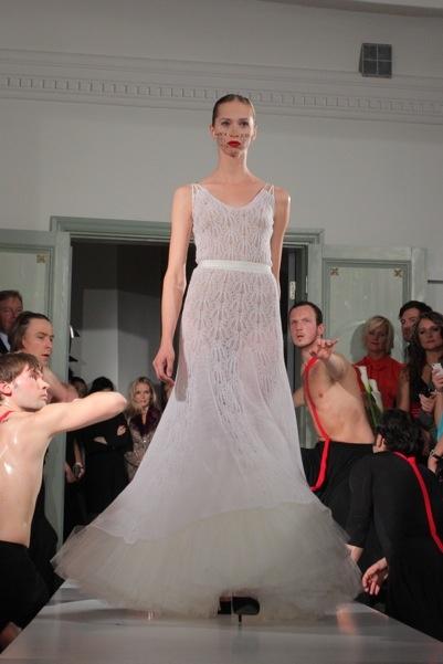 bridal dress by Kristina Viirpalu