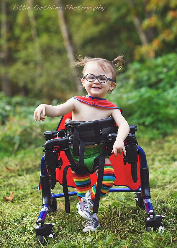 """Renee Bergeron's inspiring series """"The Superhero Project"""" features special needs children photographed as empowered superheroes."""