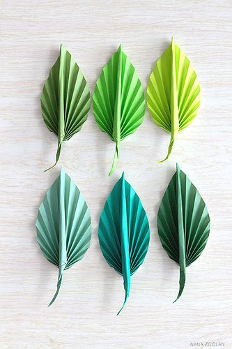 Origami Leaf Boutonnieres | by all things paper