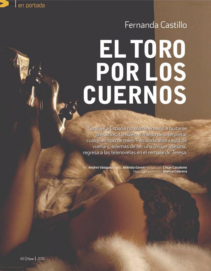 Fernanda Castillo Open magazine