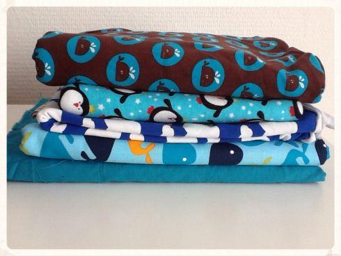 Naaien voor beginners: stofjes - Sewing for beginners: fabric   Laloe.be