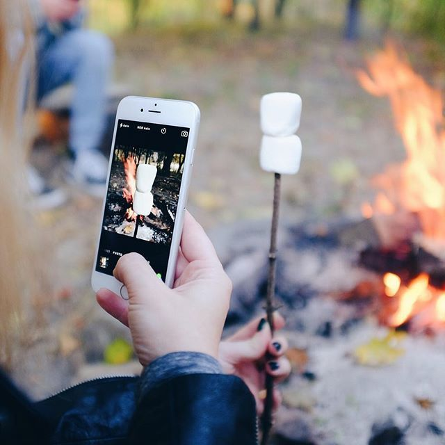 ready for fall leaves, hoodies & s'mores.