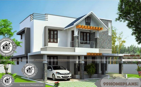 Assam Type House Front Side Design With Ultra Modern Home Floor