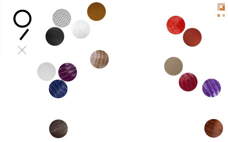 Hermès - website by Agence Famille Royale Les Ailes d'Hermès Leather - Colorful #9
