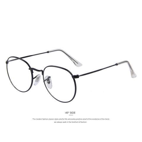 b4001ca7b0700  EBay  Merry S Women Retro Glasses Frames Men Design Eyeglasses Fashion Unisex  Optical Glasses Metal Frame