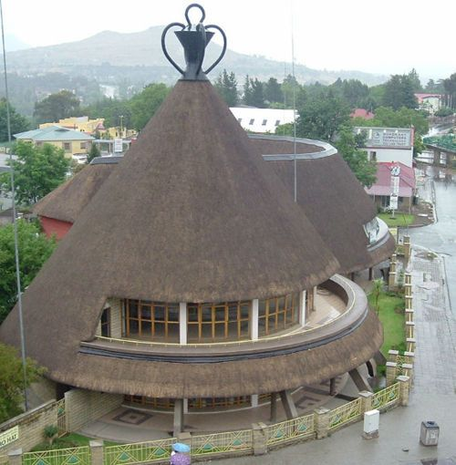 Basotho Hat in Maseru   Lesotho (by vrbros)