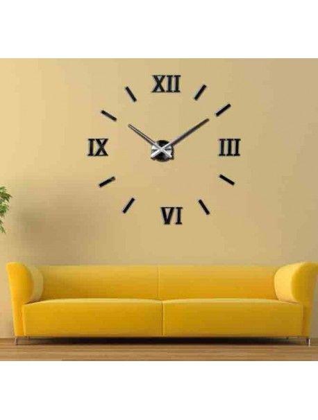 3D ceasuri de perete - Lumea culorilor Referinta  12S048-Modern wall clock  Conditie:  Produs nou  Disponibilitate:  In Stock  Alegeți-vă propria culoare! Completați un loc vacant și relaxați-vă casa cu un ceas nou. Ceasurile de perete mari reprezintă un decor unic al interiorului dvs. E timpul să se schimbe.