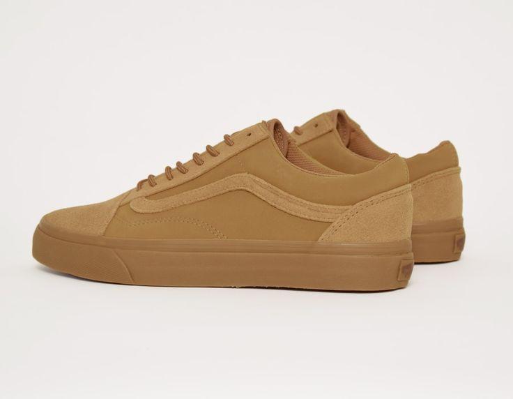 vans old skool shoes tobacco brown