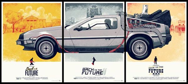 Back To The Future Trilogy by Justin Erickson