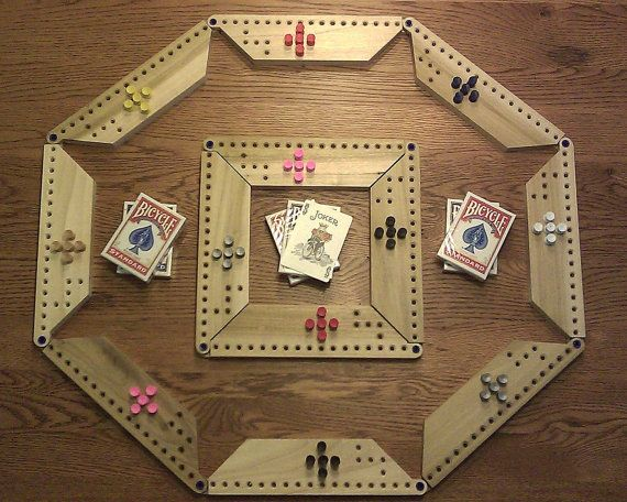 Pegs And Jokers Board Game By Activeenterprises On Etsy