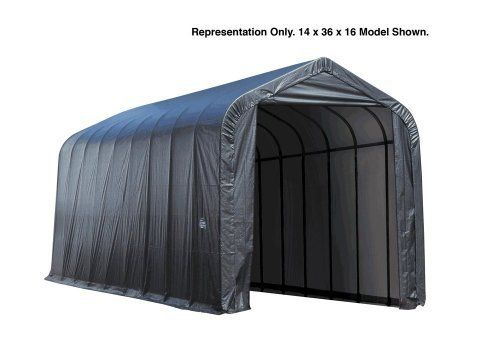 Shelter Logic 14 x 40 x 16 Peak Style Portable Garage Canopy by Shelter Logic. $2755.95. The Shelter Logic 14 x 40 x 16 Peak Style Portable Garage Canopy by Shelter Logic is on sale. Buy now while the incredible deal is available! There won't be a better time than now to buy the Shelter Logic 14 x 40 x 16 Peak Style Portable Garage Canopy by Shelter Logic.