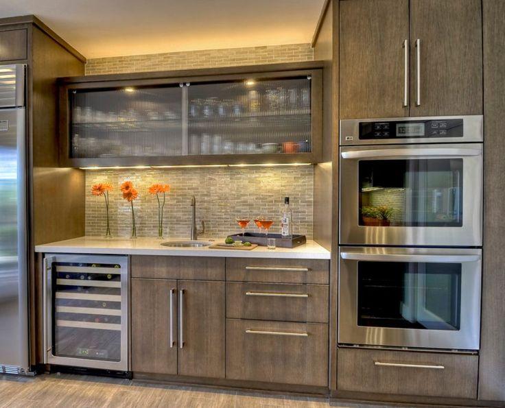 25 Best Ideas About Whitewash Kitchen Cabinets On